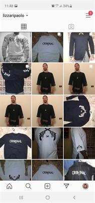 Stock abbigliamento criminal man