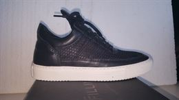 FILLING PIECES scarpa nera uomo