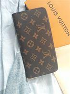 Pochette portafoglio Louis Vuitton marrone