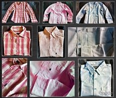 3 camicie Klein-Grifoni-Lauren Taglia M