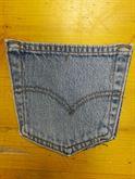 Jeans Levis Usato Accessori Vintage Levi'S Tasca a Toppa