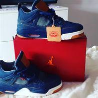 Nike Air Jordan retro 4 Levi's