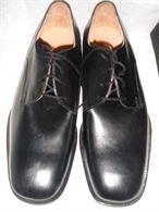 Scarpe Battistini nere eleganti made in italy n.43 nuove