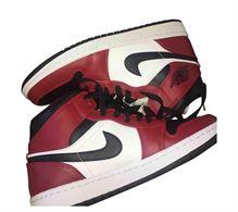 Air Jordan 1 mid rosse