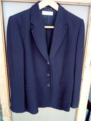 Vestito a giacca gessato donna tg.50