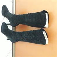 Stivali in camoscio