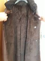 Cappotto in pelle