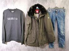 Stock di abbigliamento mix brand