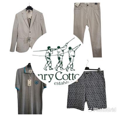 Stock abbigliamento uomo firmato HENRY COTTON'S