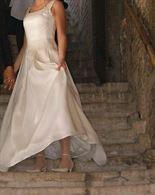 Abito da sposa in seta