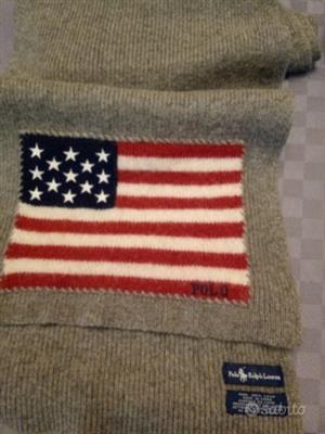 Sciarpa Ralph Lauren Originale 100% lana