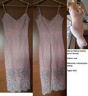 Vestito Malina Fashion, colore rosa, taglia XS/S, come Nuovo